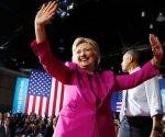Hillary Clinton es la candidata presidencial demócrata. Foto: Reuters