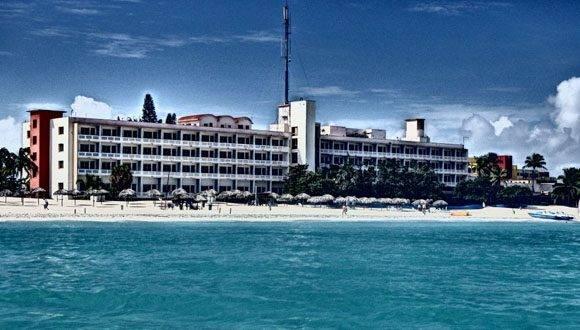 Antiguo Hotel Internacional de Varadero, inaugurado en diciembre de 1950. Foto: Archivo
