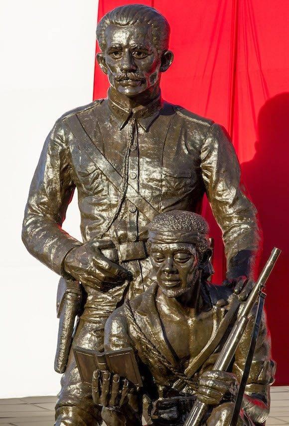 El monumento a Serafín Sánchez en la Plaza. Foto: Ismael Francisco/ Cubadebate