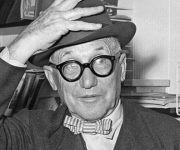 El prestigioso arquitecto suizo-francés Le Corbusier. Foto: AFP.