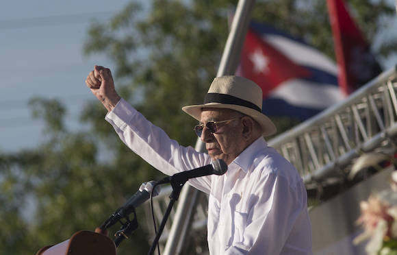 Reitera Machado Ventura en Sacti Spíritus voluntad de consolidar socialismo cubano