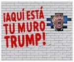 """""""Si Trump quiere un muro, se lo vamos a dar"""", dice la campaña de Mijente en redes sociales."""