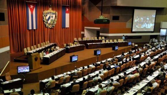 Asamblea Nacional del Poder Popular. Foto: Roberto Suárez.