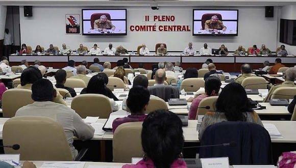 Pleno del PCC. Foto: Estudios Revolución