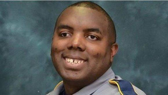 Montrell Jackson tenía 10 años en la policía de Baton Rouge. Foto: Policía de Baton Rouge.