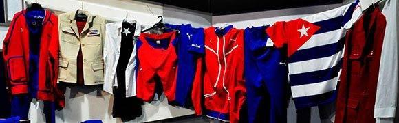 Parte del vestuario olímpico. Foto: Roberto Garaicoa/ Cubadebate.