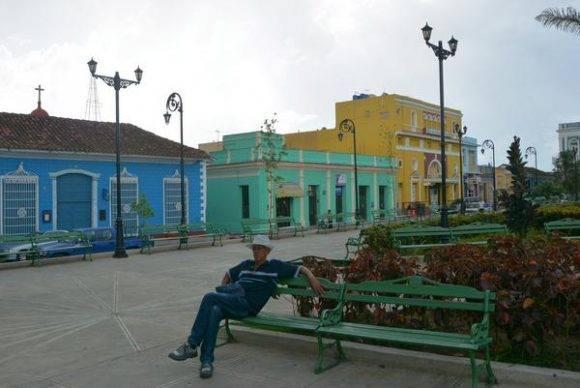 Vista de la zona central de la ciudad de Sancti Spíritus, sede de las actividades centrales por el 26 de Julio, Día de la Rebeldía Nacional, Cuba, 24 de julio de 2016. ACN  FOTO/Osvaldo GUTIÉRREZ GÓMEZ/sdl