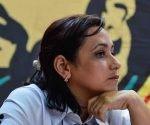 Susely Morfa, primera secretaria de la UJC.