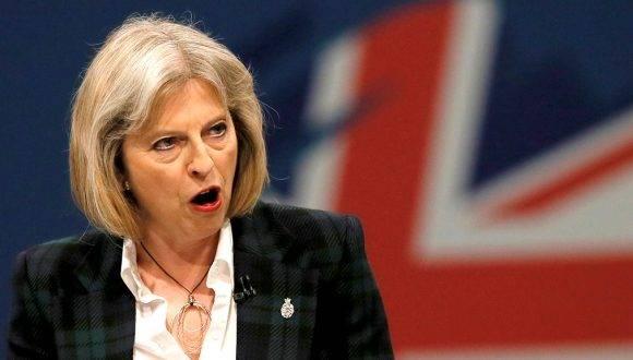 Ministra del Interior británica, Theresa May, posible sustituta del primer ministro David Cameron. Foto: Archivo.