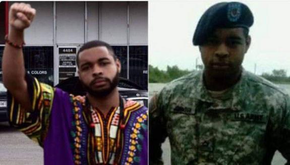 Micah Johnson, de 25 años, vivía en Dallas. Foto: Twitter.