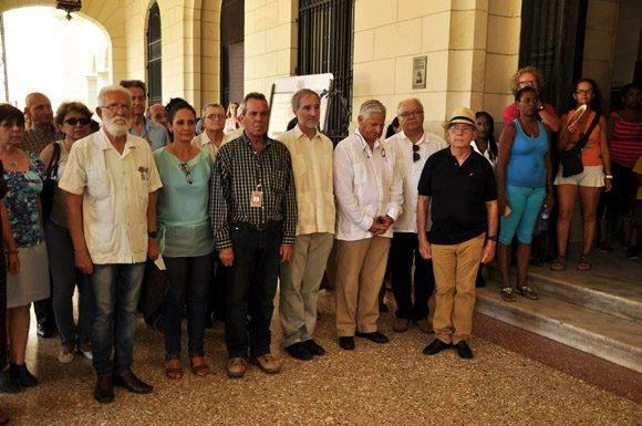 Embajador de España en Cuba y funcionarios de ese cuerpo diplomatico. Roberto Garaicoa Martínez/ Cubadebate