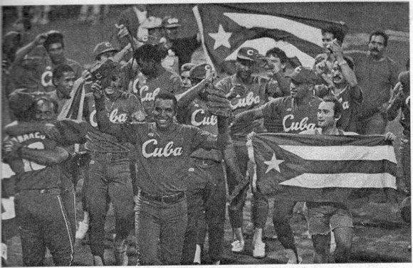 Equipo de béisbol campeón de Barcelona 1992
