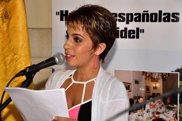 Yanela de la Rosa oficializa la ceremonia inaugural. Foto. Roberto Garaicoa Martínez/ Cubadebate