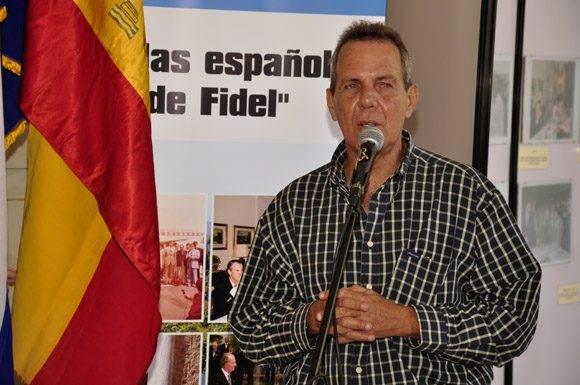 Lic. José Andrés Pérez director del Museo de la Revolución. Foto. Roberto Garaicoa Martínez