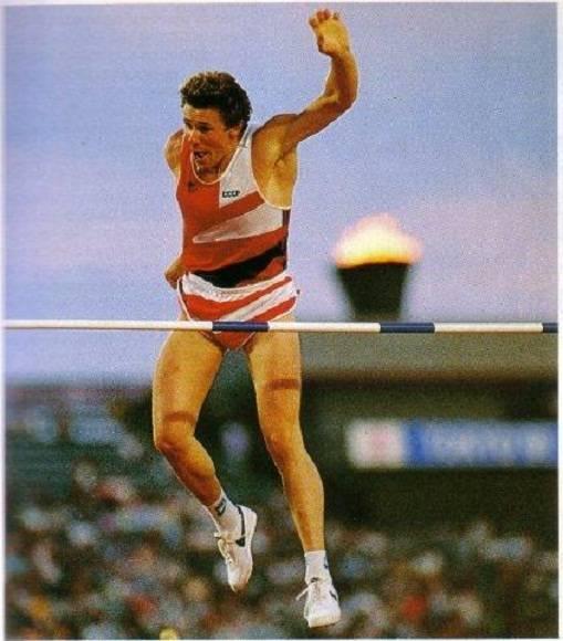 El multicampeón Sergei Bubka
