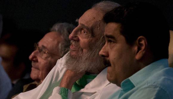Fidel Castro Attends Gala for his 90th Birthday