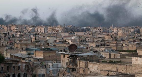 La ciudad de Alepo en Siria. Foto tomada de Sputniknews.