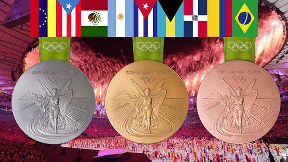 America Latina Juegos Olimpicos