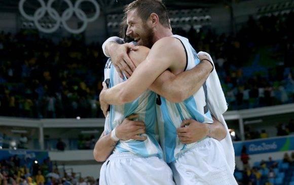 Noccioni fue sin duda una de las grandes estrellas del partido donde Argentina venció a Brasil en Rio 2016. Foto: Elsa / Getty images