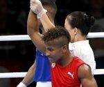 Argilagos venció en la primera pelea del boxeo cubano. Foto: Roberto Morejón/ Jit.