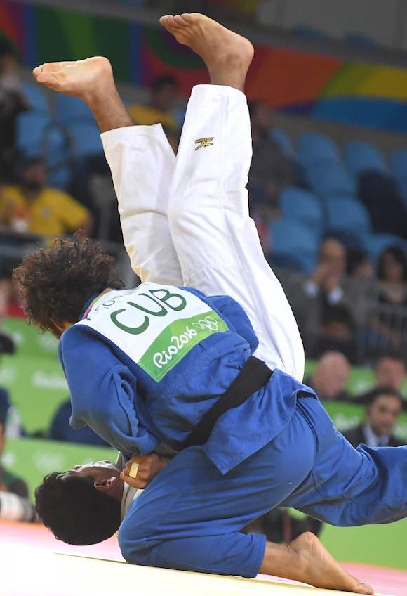 Judo Olímpico Asley González 90 KG gana y continúa avanzando en el organigrama. Foto: Ricardo López Hevia/ Granma