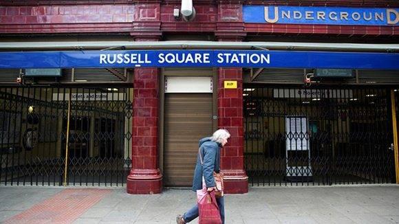 El atentado ocurrió en la céntrica plaza Russell de Londres. Foto: Neil Hall/ Reuters.