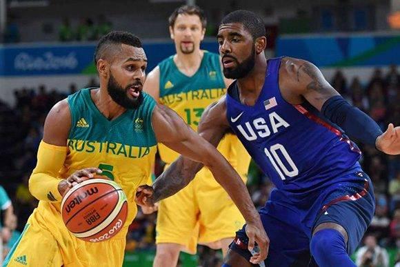 Australia Estados Unidos Baloncesto Rio 2016