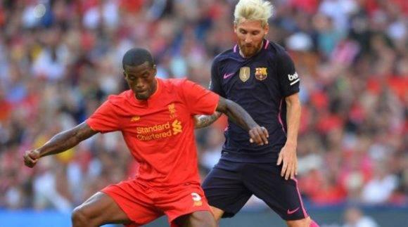 El Liverpool golea al Barcelona 4-0 en amistoso en el Estado Wembley, 6 de agosto de 2016 / AFP / Glyn KIRK
