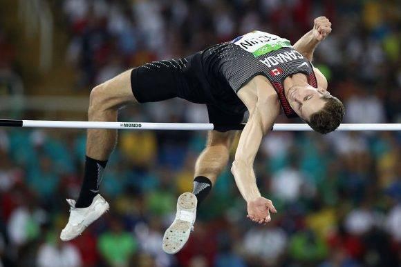 Canadiense Drouin ganó el salto alto en Rio