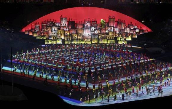 Inauguración de Rio 2016. Foto: Reuters