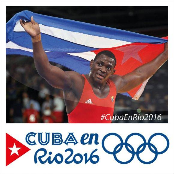 Cuba en Río 2016 Banner