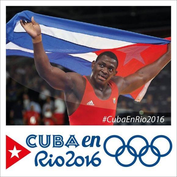 Cuba en Río 2016 Banner