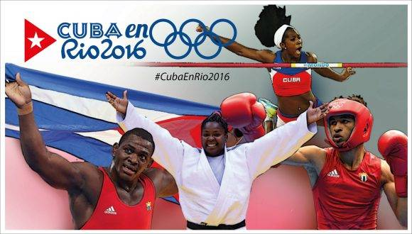 Cuba en Río 2016 Cabezal