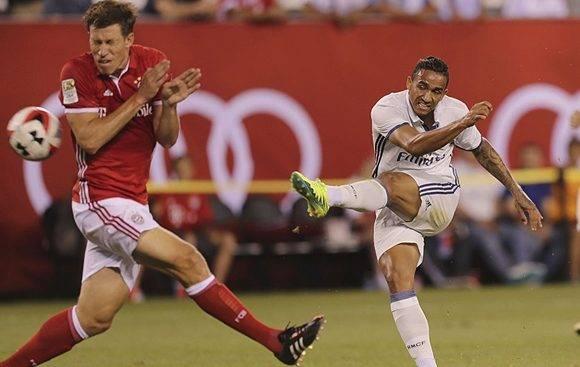 Danilo anotó el único gol del encuentro.