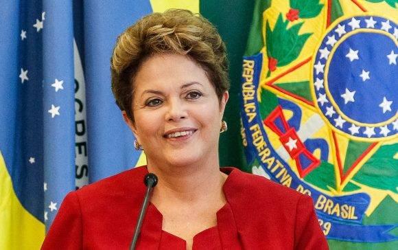 Dilma ROusseff. Foto tomada de Tiempo.