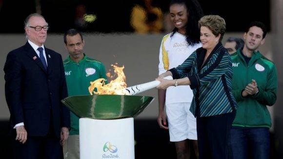 Dilma Rousseff no asistió a la ceremonia inaugural de los Juegos. Foto tomada de Infobae.