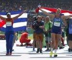 Denia Caballero fue Bronce Olímpico en el Disco. Foto: Roberto Morejón