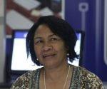 Dra. Miriam Nicado García, rectora de la UCI. Foto: José Raúl Concepción/ Cubadebate.