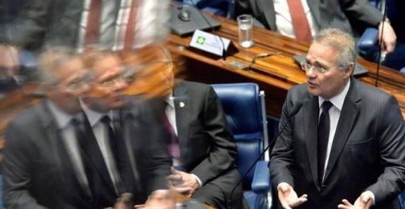 El presidente del Senado brasileño, Renán Calheiros, es uno de los que acumula más investigaciones. Foto: EFE