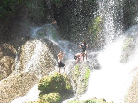 En el Nicho, montañas del Escambray. Foto Chenly Cubadebate