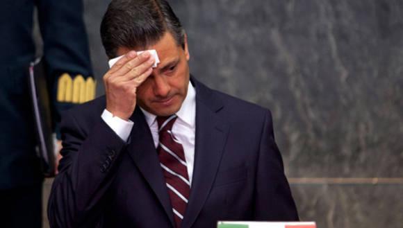 Presidente de México, Enrique Peña Nieto. Foto: Proceso.