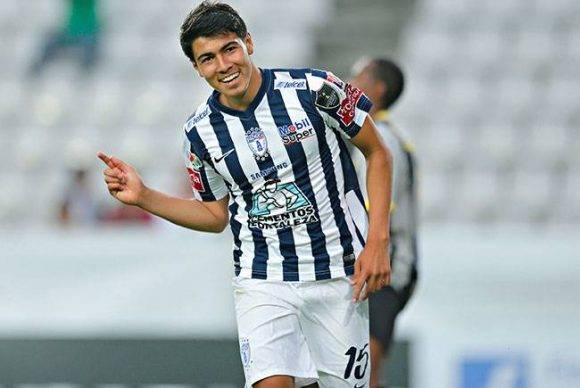 El canterano del Pachuca, Erick Gutiérrez, se dio banquete en el partido de hoy. Foto tomada de sipse.com