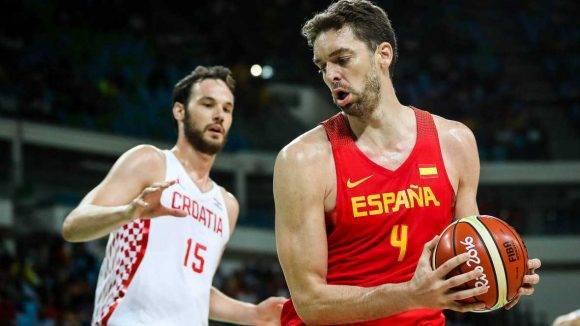 España Croacia basket masculino