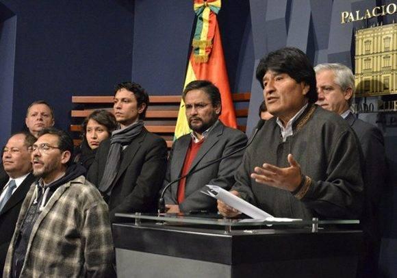 Foto: Agencia Boliviana de Información.