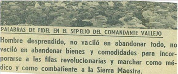 Periódico Granma, 14 de agosto de 1969.