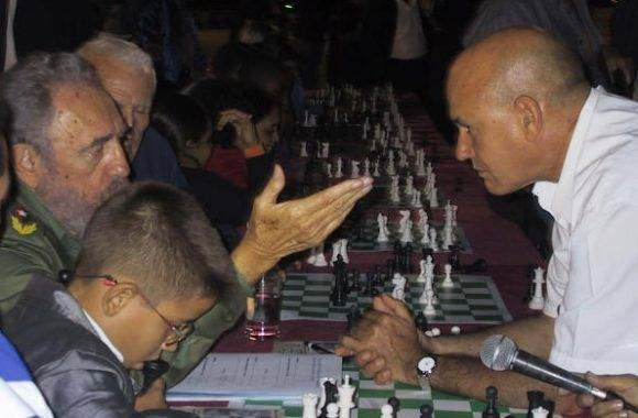 """""""El ajedrez es un gran instrumento para desarrollar el hábito de utilizar la inteligencia""""."""