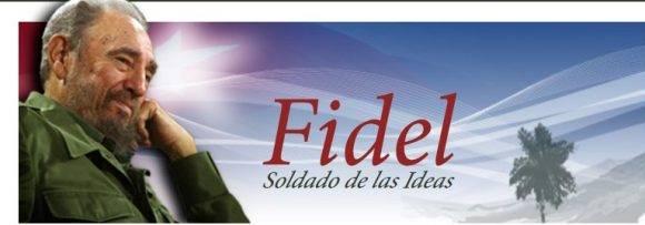 Fidel Soldado de las ideas