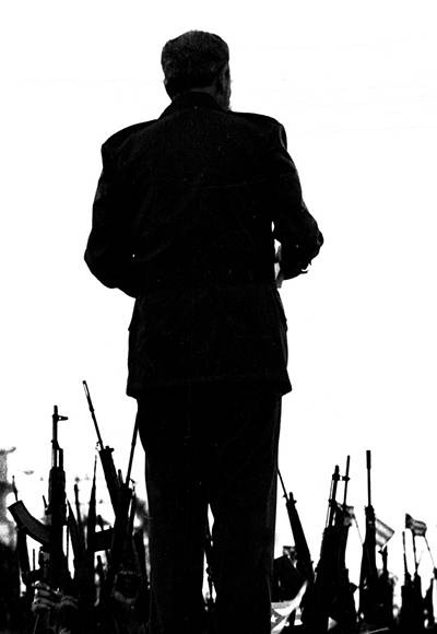 Una de las fotos más famosas de Fidel captada por el lente del gran Liborio Noval.