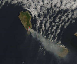 Foto NASA incendio