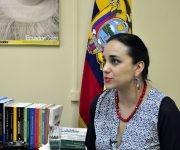 Gabriela Rivadereira, presidenta de la Asamblea Nacional de Ecuador Foto: Roberto Garaycoa/ Cubadebate.